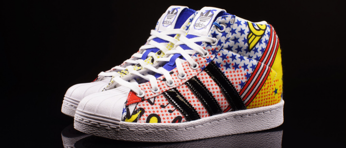 Cheap Adidas superstar 80s x nigo logo