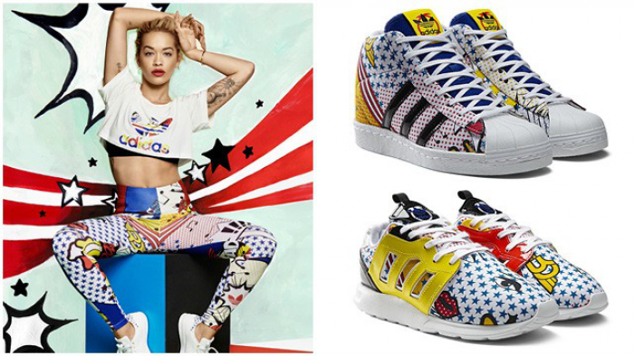9102f6a8166 ... and musician -Rita Ora. The new collection finds it's inspiration in  pop art, asian symbols, billowing smoke and futuristic X-rays