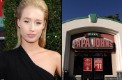 Papa Johns Gave Out Iggy Azaleas Phone #