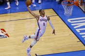 Russell Westbrook Goes for 5th Straight Triple Double!