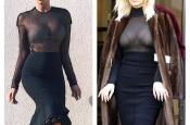 "Serbian Pop Star, Jelena Karleusa, says Kim Kardashian ""Stole My Style!"""