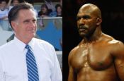 "Evander ""Real Deal"" Holyfield to Fight.... Mitt Romney?!"