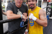 """Mark Wahlberg Has His """"Money"""" on Pacquiao"""