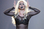 Britney Spears Twisted Her Ankle Performing in Las Vegas!