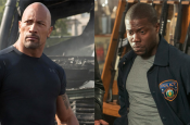 Dwayne Johnson & Kevin Hart Filming in Boston
