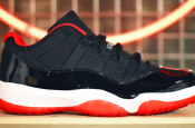 "NEW RELEASE: Air Jordan XI Low ""Bred"""