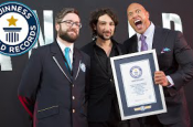 "The Rock Breaks ""Selfie"" World Record"