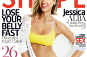 Jessica Alba Graces Cover of Shape Magazine