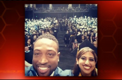 Social Media Power Brings NBA Star Dwayne Wade to High School Graduation