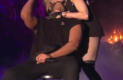Madonna Kissing Drake Coachella 2015