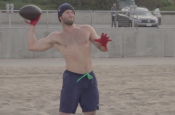 New England Patriots Julian Edelman Workout in California