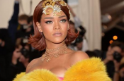 Rihanna Dress Shuts Down The Red Carpet at Met Gala