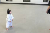 3 Year Old Girl White Belt Reciting The Student Creed!
