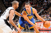 Warriors Blow Out The Spurs 110-99!