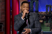 Will Smith Raps On The David Letterman The Late Show?