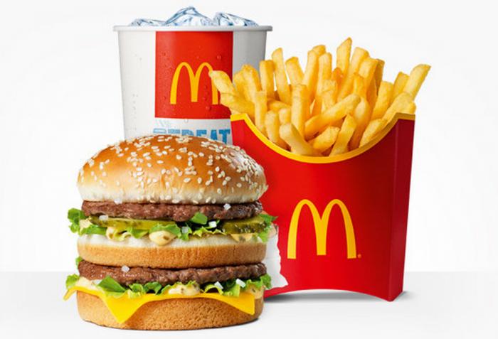 Top 10 fast food burger joints uprar - Fast good cuisine big mac ...