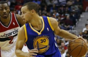 Terrible HORSE competition: John Wall vs. Stephen Curry